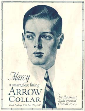 arrow-collar-man