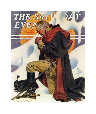 joseph-christian-leyendecker-george-washington-at-valley-forge-c-1935